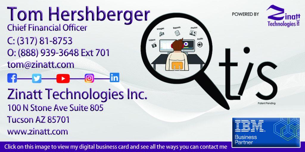 Tom Hershberger Signature