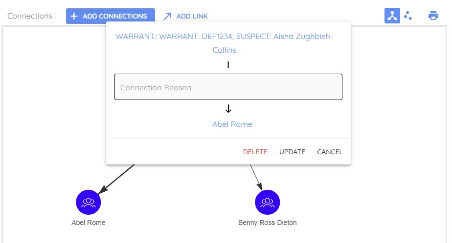Connection Reason